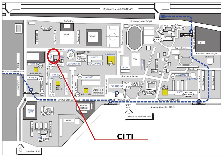 Insa map
